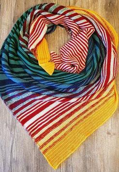 Wunschwicklung 7-10-farbig Strickpaket Leuchtturmtuch