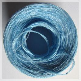 Zweifarbig aqua-hellblau