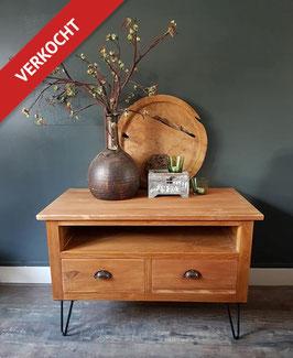 VERKOCHT: Kast #04 - Compact tv meubel / dressoir 90 cm breed