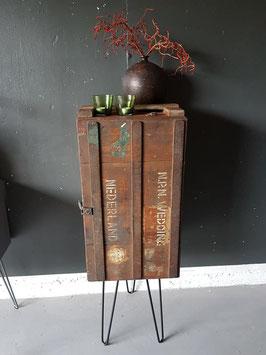 VERKOCHT - Kast #14 - Kast 42 cm breed vintage / industrieel