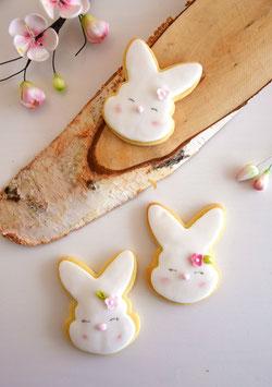 Drei Osterhasen Cookies zum Verschenken