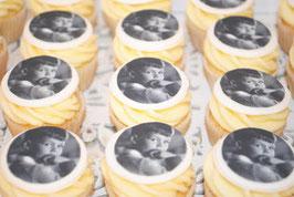 Cupcakes mit deinem Lieblingsfoto