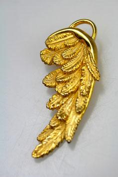 """""""Friedberger Flügel"""" - aus der Kirche Herrgottsruh, groß, 925/- Sterling Silber, Gold plattiert"""