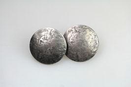 """""""Werner Scheiben"""", klein, 925/- Sterling Silber, geschwärzt"""