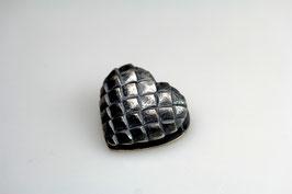 """""""Augsburger Herz"""", klein, 925/- Sterling Silber geschwärzt"""