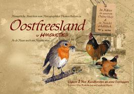"""Motivmappe ut Haasketied Edition 1 """"Von Rotkehlchen und anderen Vögeln"""""""