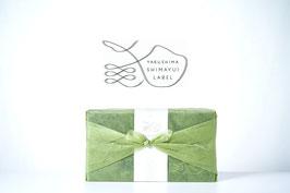 屋久島あごだしギフトセット〈ラッピング緑色〉