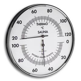 Thermo-Hygrometer mit Metallring