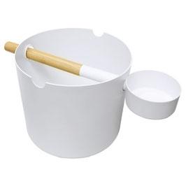Saunaset Kolo in weiß