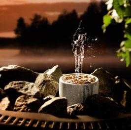 Springbrunnen Saunatroikka