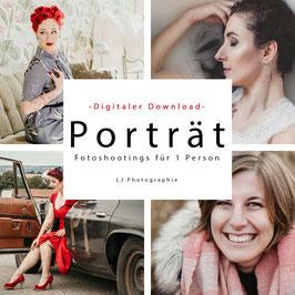 Porträtshooting als digitaler Download