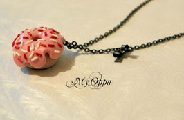 Collier donut rose