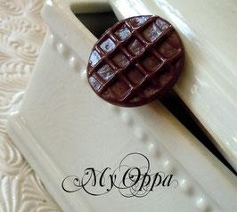 Bague biscuit chocolat