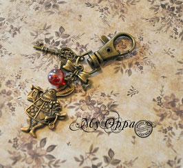 Porte clés lapin Alice