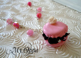 Bracelet Donut rose chantilly