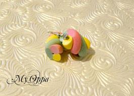 Boucles d'oreilles guimauve classic