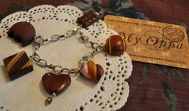 Bracelet caramel