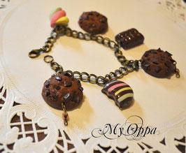 Bracelet chocolaté