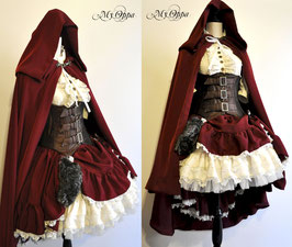 Ensemble chaperon rouge pour le 31 decembre 2019/ Set Red little hood by 31th december 2019 (1)