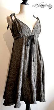 Robe baroque grise été
