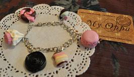 Bracelet gourmandises fraise