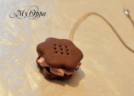 Collier petit biscuit