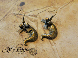 Boucles d'oreilles tentacules