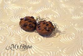 Boucles d'oreilles cookie