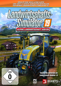 PC Landw. Simulator 19: Alpine Landwirtschaft (DE)