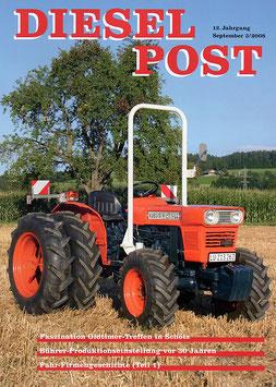 Zeitschrift Diesel-Post Nr. 3/2008