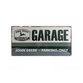 Blechschild John Deere Garage