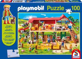 Puzzle Playmobil - Auf dem Bauernhof