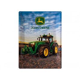 Blechschild John Deere 8370R