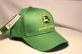 Cap John Deere grün