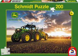 John-Deere 6150R mit Feldspritze, Puzzle