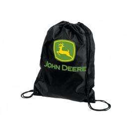 John Deere schwarzer Nylon Rucksack