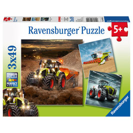 Claas Axion, Lexion, Xerion - Puzzle