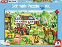 Fröhlicher Bauernhof, Puzzle