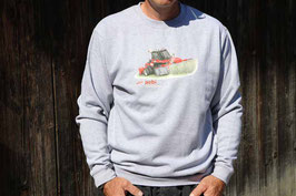 Sweatshirt Aebi Terratrac TT 211 Rundhals Erwachsen