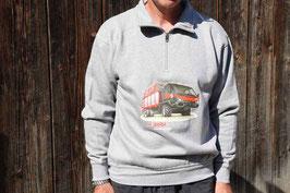 Sweatshirt Transporter Aebi VT 450 Vario Reisverschluss Erwachsen