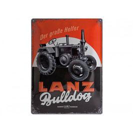 Bleschild Lanz - Der grosse Helfer Lanz
