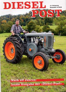 Zeitschrift Diesel-Post Nr. 4/2008