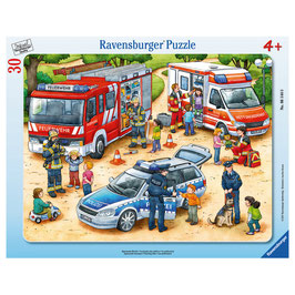 Puzzle Spannende Berufe 30 Teile