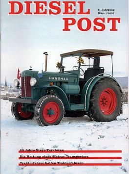 Zeitschrift Diesel-Post Nr. 1/2007