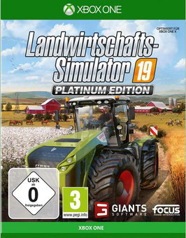 Xbox One Landwirtschafts-Simulator 19: Platinum Edition (PEGI)