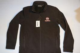 Jacke mit Hürlimann Logo und Schrift vorne+hinten