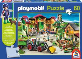 Playmobil Puzzle - Auf dem Bauernhof - 60 Teile