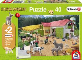 Ein Tag auf dem Bauernhof - Puzzle 40 Teile