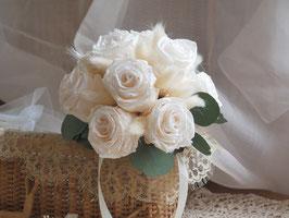 Bouquet de mariée stabilisé - Juliette.