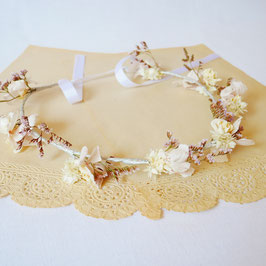 "Couronne de fleurs collection "" Louise """